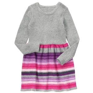 Size 10 Gymboree sweater dress🌸💜🌸💜
